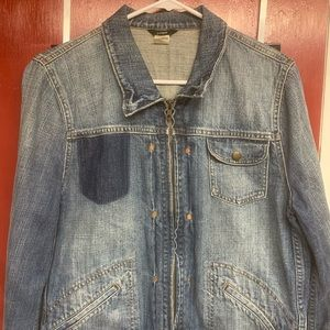 J. Crew Denim Jacket (XL/Like New)